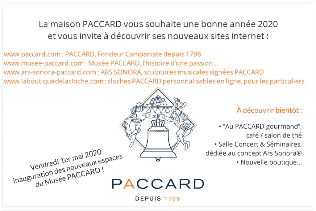 VŒUX PACCARD 2020